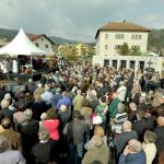 Odprtje Spominskega parka Grahovo