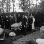 Pokop žrtev iz Hude Jame - nagovor predsednika NSZ